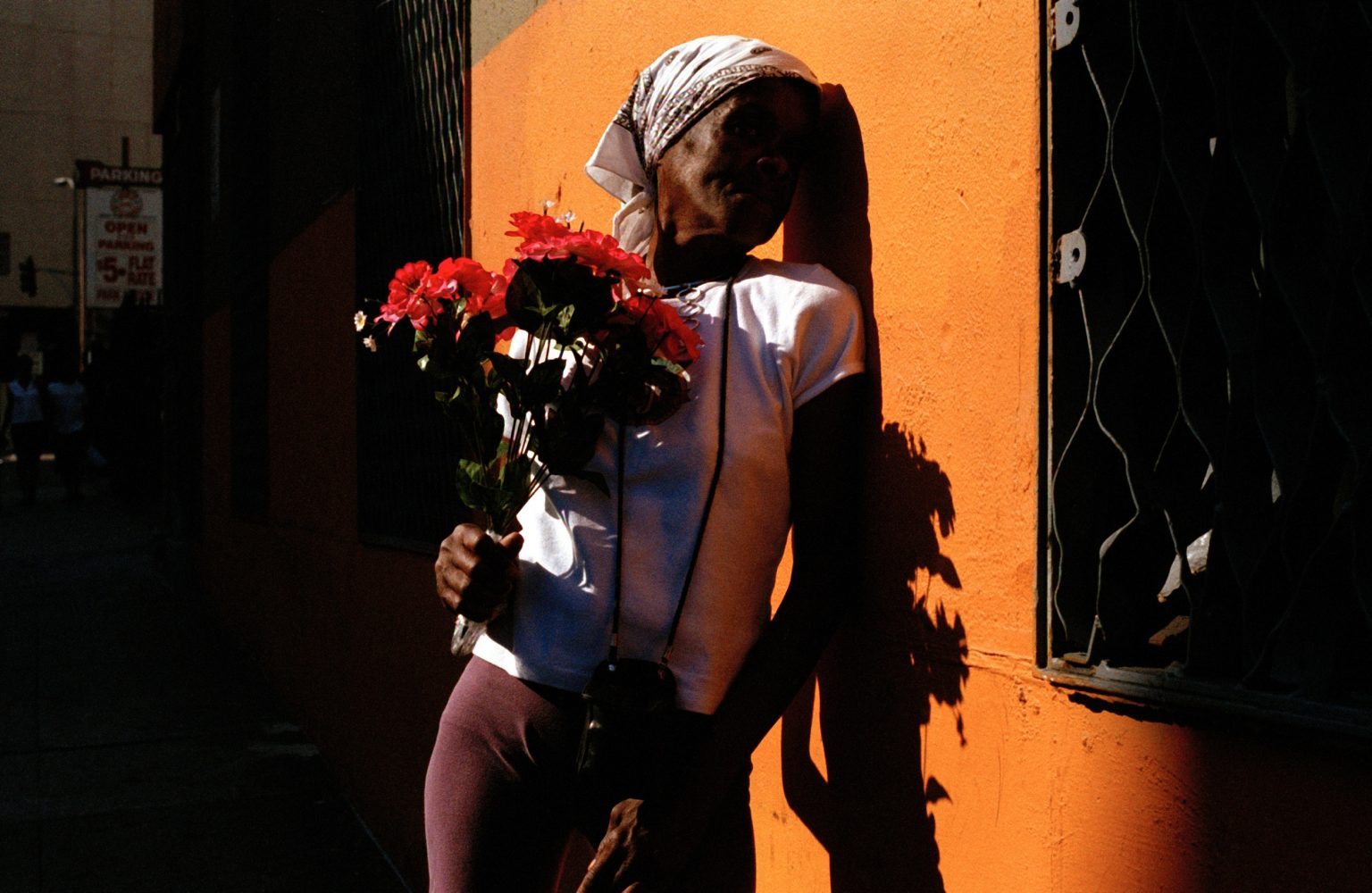 Shirley moved to L.A. with her boyfriend. He was always hitting her so she left him. She moved to Skid Row and started to prostitute herself to make a living.Los Angeles, United States 2004-2005