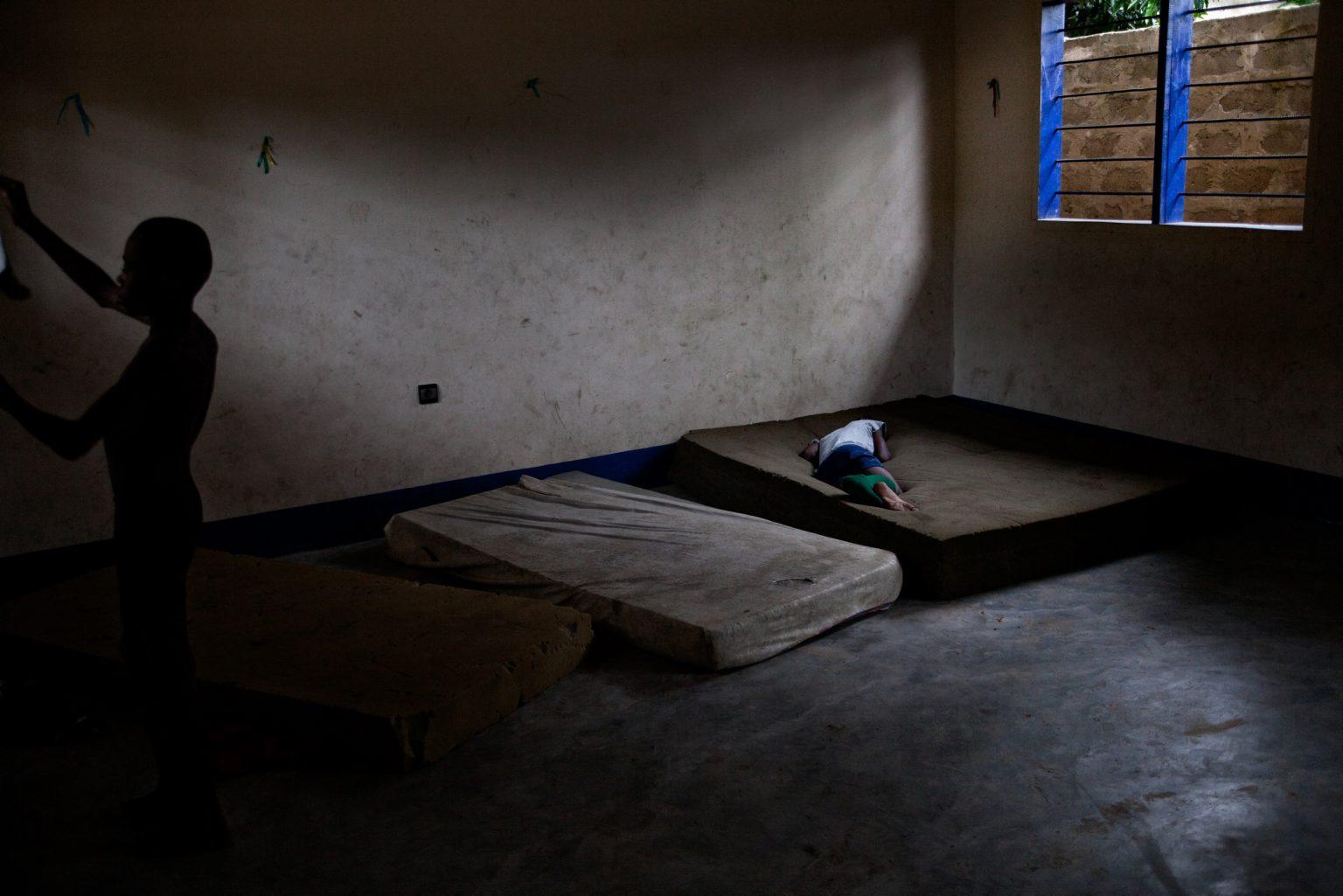 Ndako ya Biso Centre - Children in the room where children rest in the afternoon. Kinshasa, Democratic Republic of the Congo, 2011
