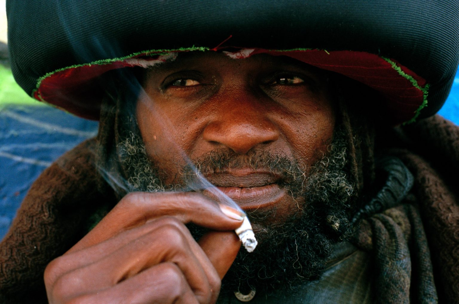 William, he is Jamaican and lives in Skid Row. Los Angeles, United States 2004-2005
