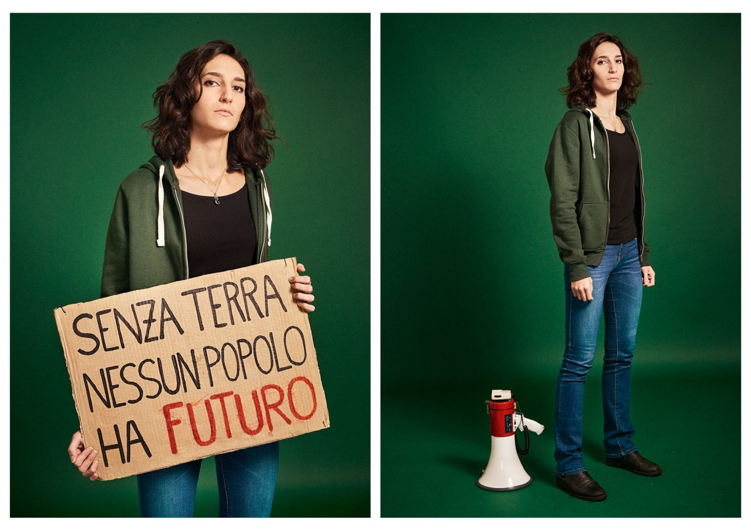 Marianna Panzarino launched Fridays for Future Bari and was among the activists of the first national coordination. In September 2019, she followed the process to make climate emergency be declared in the city of Rome, pushing the Municipality to adopt the motion unanimously. Marianna is a 24 year old law student at La Sapienza University, she dreams of becoming a magistrate, making her battle not only for the climate but also the battle against mafia. Rome, Italy, 2019