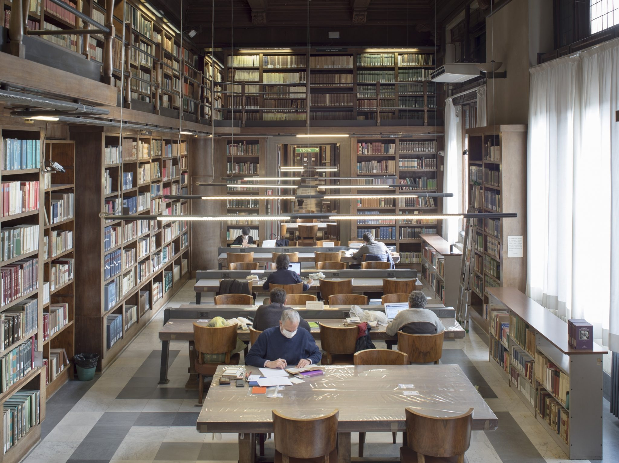 Consultations rooms, National Library of Florence, Italy, 2020