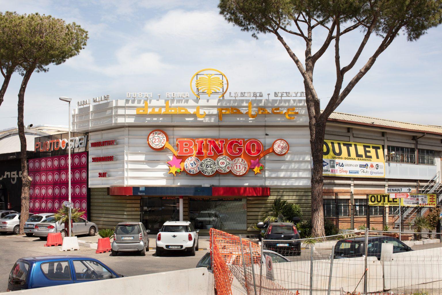 Via Tiburtina, suburb. Rome, Italy, 2016
