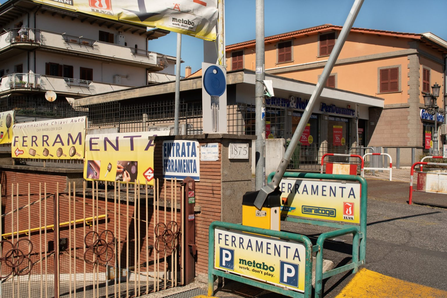 Via Calpurnio Fiamma, Casilino neighborhood. Rome, Italy, 2017