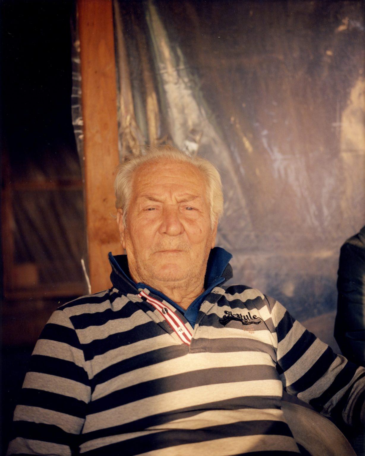 Portrait of local resident. Paesi Vesuviani, Province of Naples. 2020