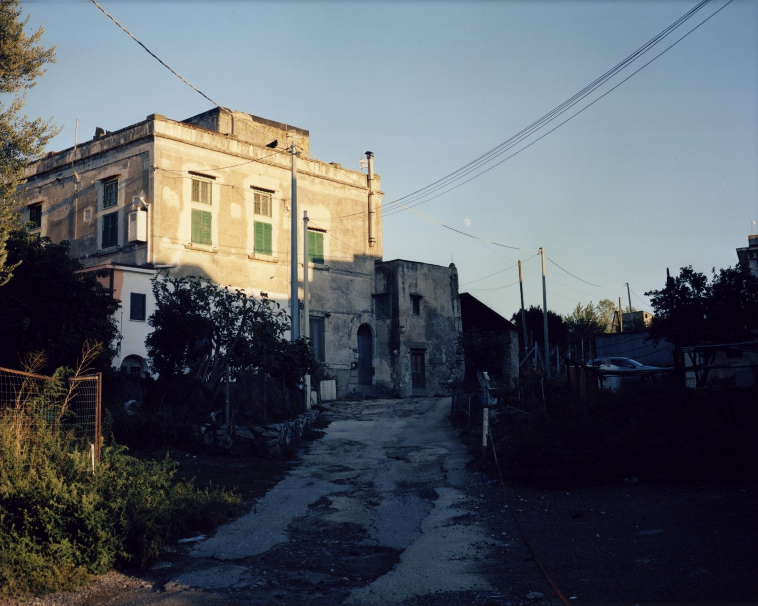 Farmhouse at the fotthills of the Vesuvius. Paesi Vesuviani, Province of Naples. 2020