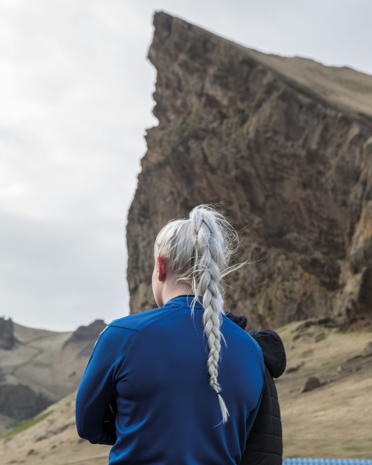 In Iceland, football is the second most popular sport among women after team gymnastics. Vestmannaeyjar, Iceland, 2018