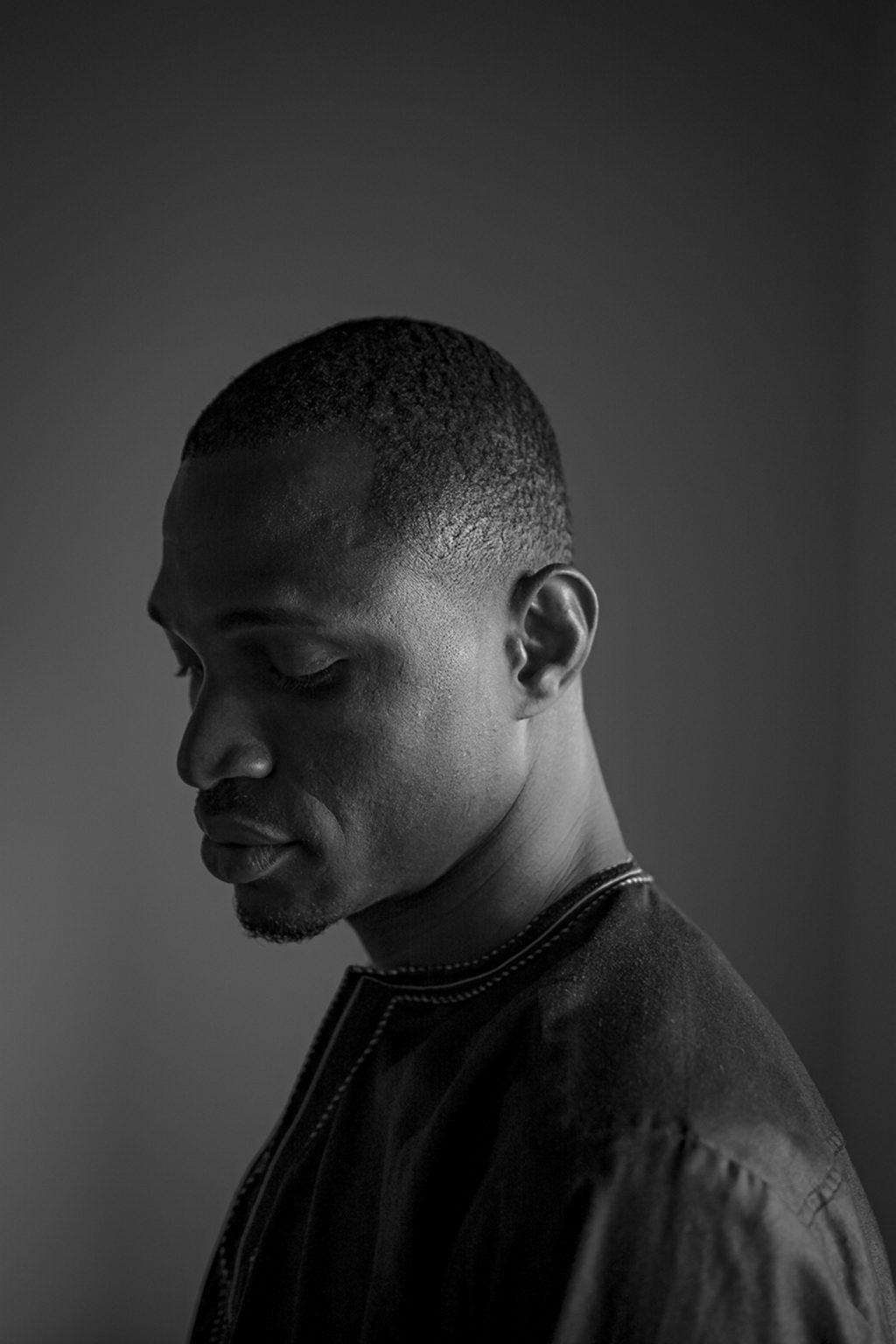 Portrait of Yacuba Camate, born in 1996 in Ivory Coast. Reggio Emilia, Italy, 2019