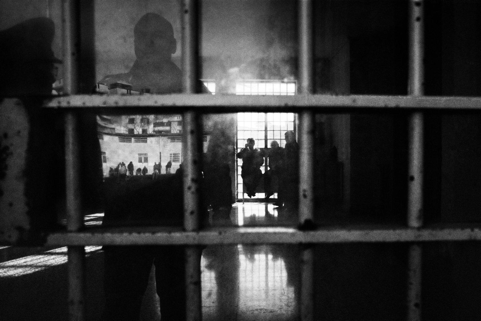 Isolated inmate. Judicial Psychiatric Hospital. Aversa, Caserta, Italy, 2006