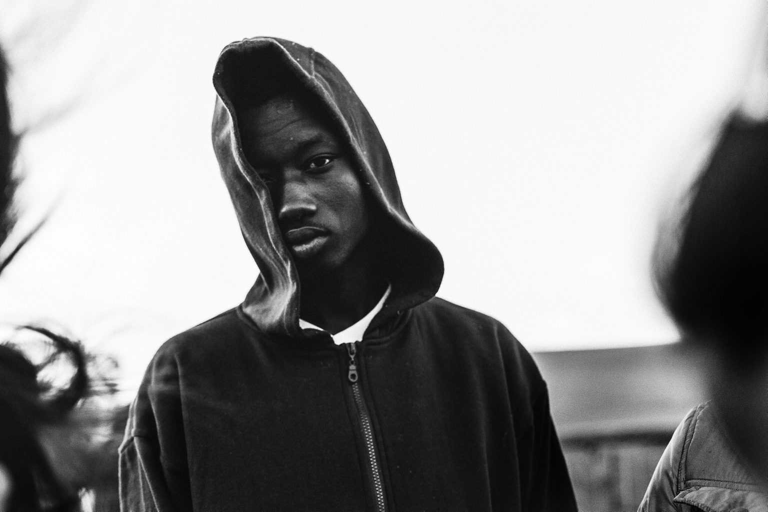 Ousmane Fofana, a young migrant from Mali. Melilla, Spain, 2014