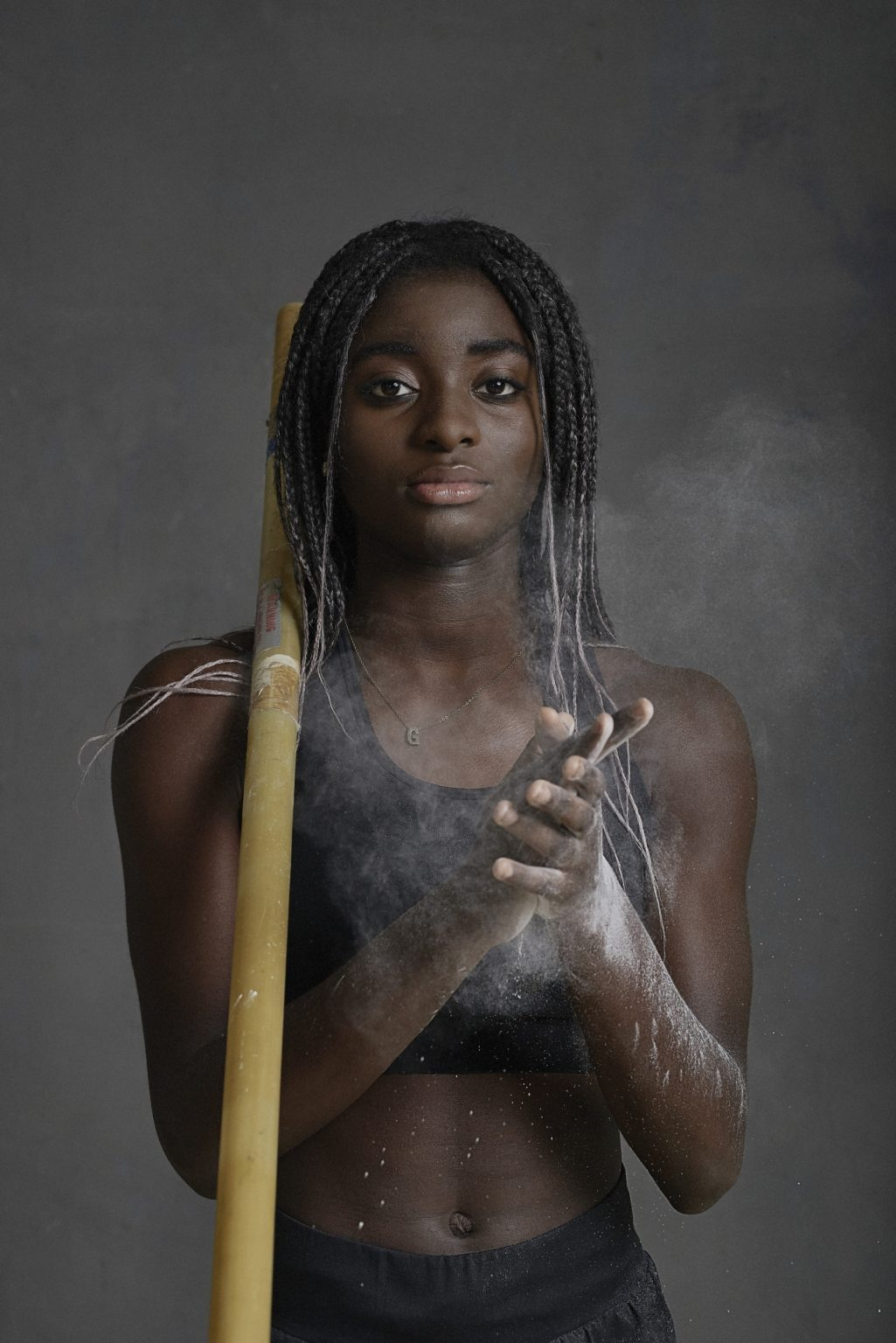 """""""My name is Great Nnachi and I was born on September 15, 2004 in Turin. My parents are Nigerians and they came to Italy 25 years ago. I've been practicintg athletic since I was 9 years old but I started with pole vault when I was 12. I found some difficulty: for example, when I achieved the Italian athletics record, it has not been validated as long as my coach managed to change the regulation. Now, I am standard bearer of the Republic thanks to president Mattarella. I would like to be able to attend the Olympics and compete for the country where I was born, Italy """"."""