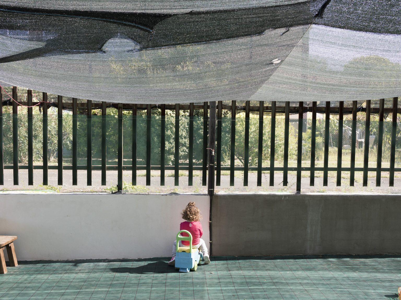 Un asilo nido nella periferia di Roma.  A nursery school on the outskirts of Rome.