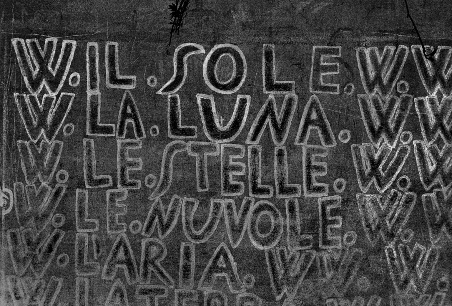 """Colorno (Parma), 1968-1969 - Inside a mental institution: writings on the wall made by the patients. ><  Colorno (Parma), 1968-1969 - All'interno dell'istituto psichiatrico: le scritte sul muro lasciate dai pazienti.<p><span style=""""color: #ff0000""""><strong>*** SPECIAL   FEE   APPLIES ***</strong></span></p>"""