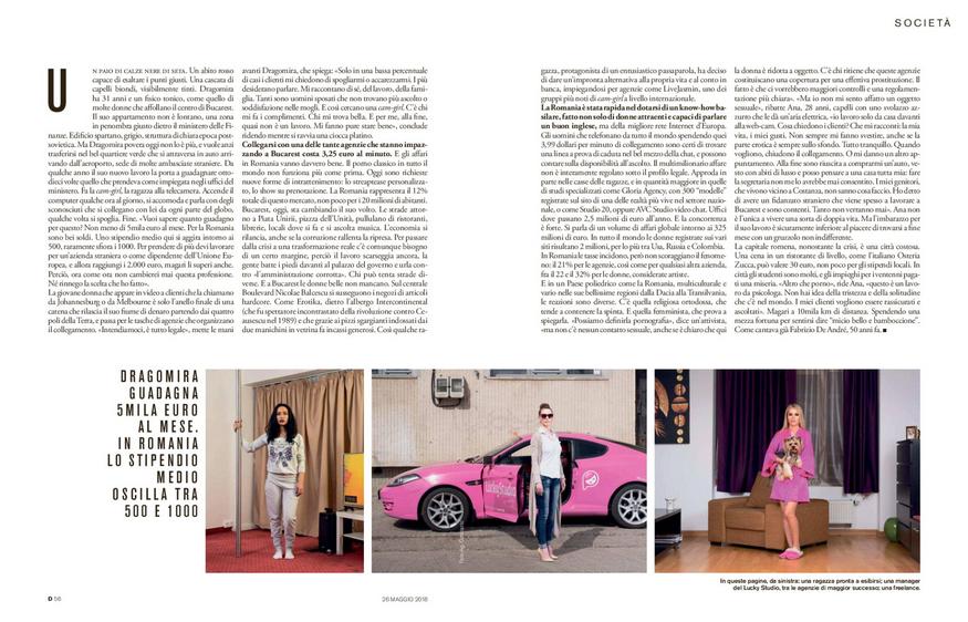 D - La Repubblica delle Donne, May 2018