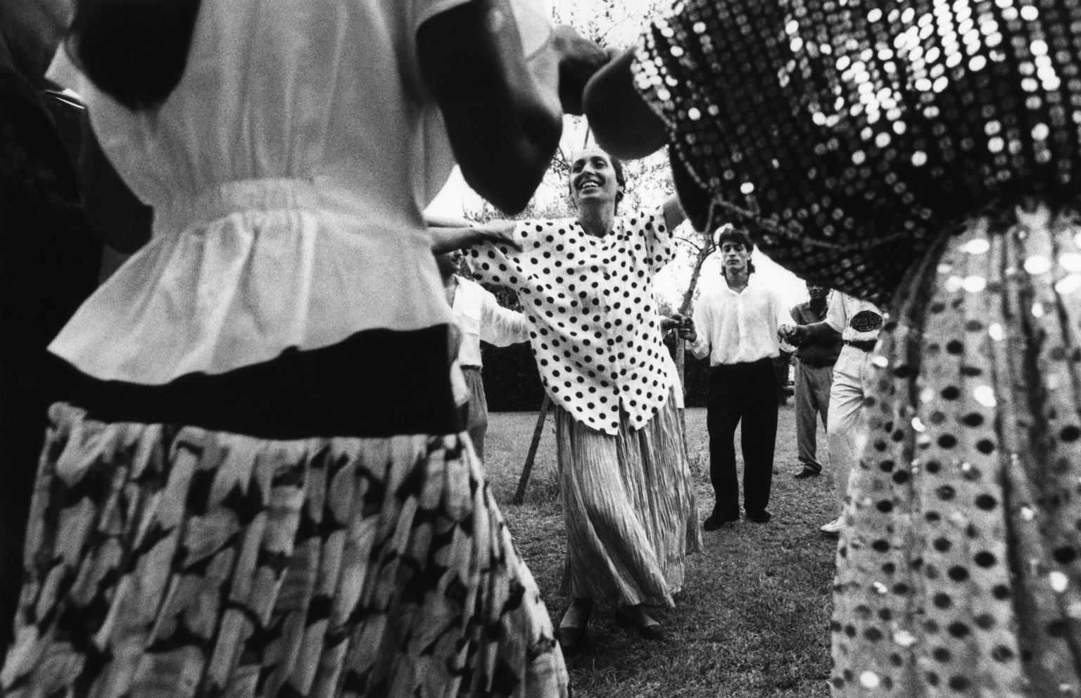 """Florence , 1993 - Nomads' camp - Dancing during a party >< Firenze , 1993 - Campo nomadi - Danze durante una festa<p><span style=""""color: #ff0000""""><strong>*** SPECIAL   FEE   APPLIES ***</strong></span></p>"""