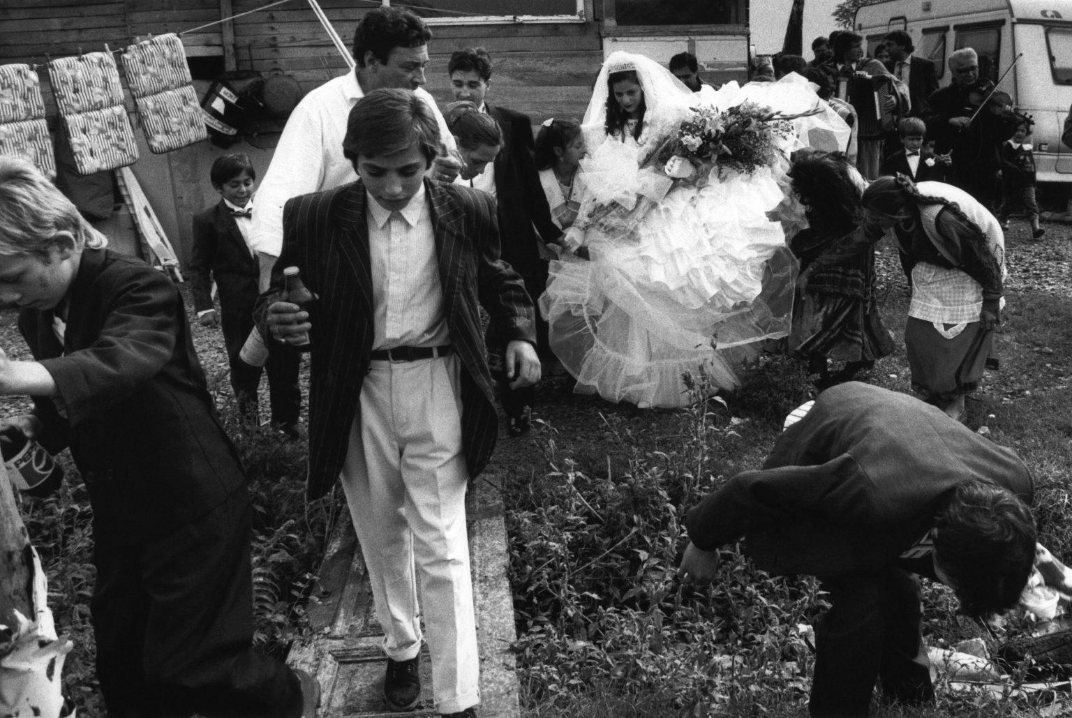 Florence , 1993 - Gypsy wedding >< Firenze , 1993 - Matrimonio zingaro