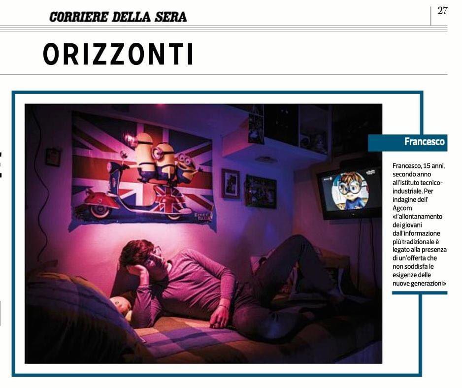 Il Corriere della Sera, April 2021