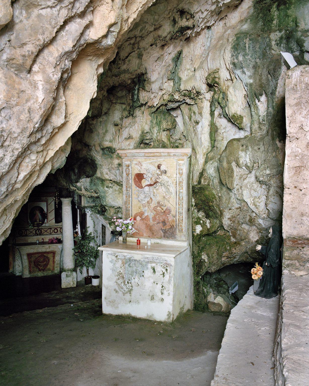 San Donato di Ninea (CS), febbraio 2017. Grotte Sant'Angelo.