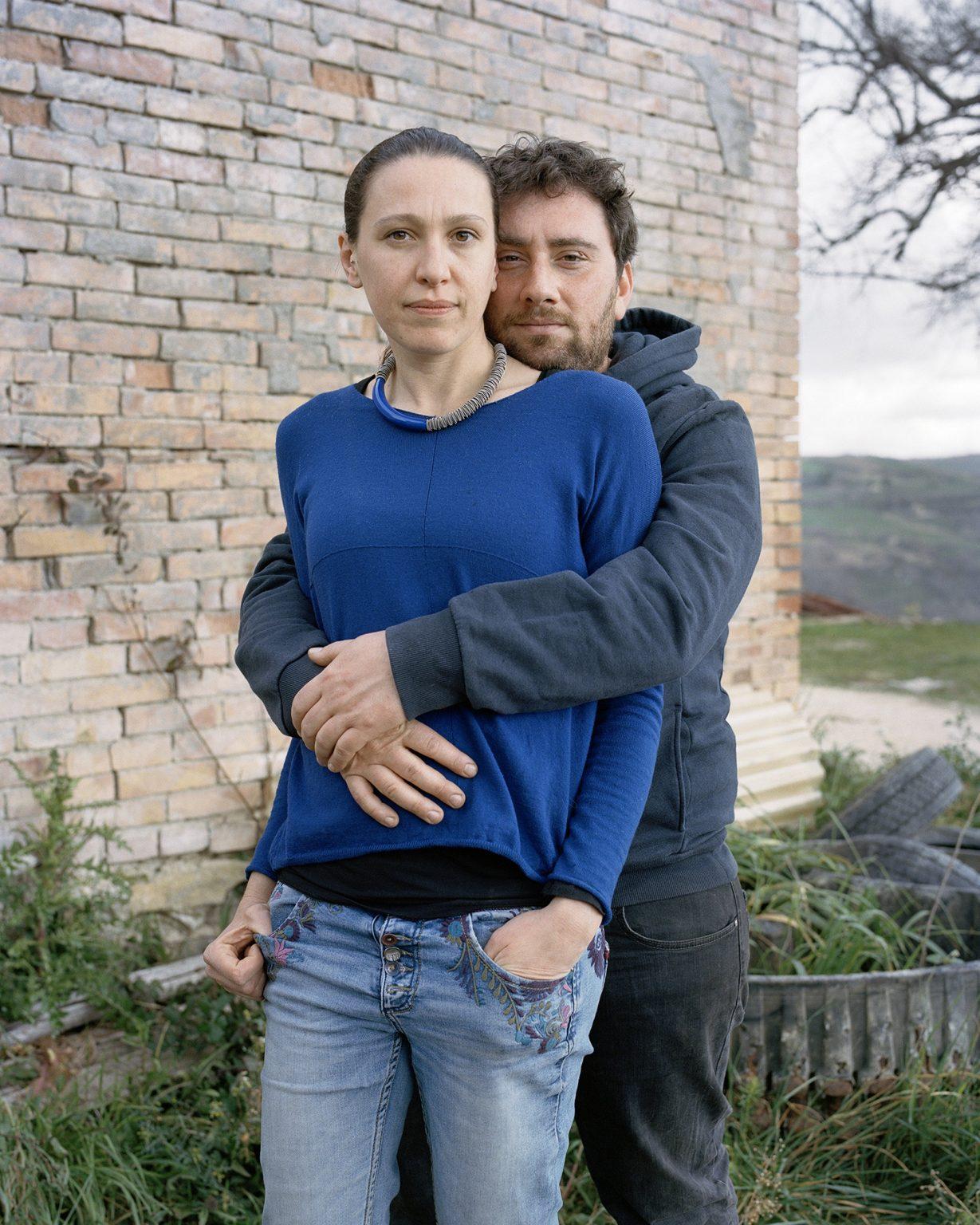 Michela e Nicola, Campolieto (CB), marzo 2020