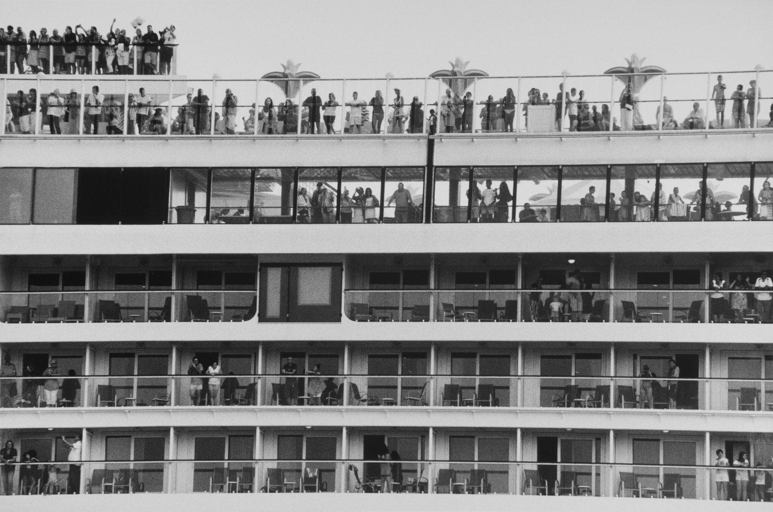"""Venice, August 2013 - Big cruise liners invade the city - Cruise ships passing by the old town ><  Venezia, agosto 2013 - Le grandi navi da crociera invadono la città - Transatlantici passano davanti al centro storico<p><span style=""""color: #ff0000""""><strong>*** SPECIAL   FEE   APPLIES ***</strong></span></p>*** SPECIAL   FEE   APPLIES *** *** Local Caption *** 00551376"""