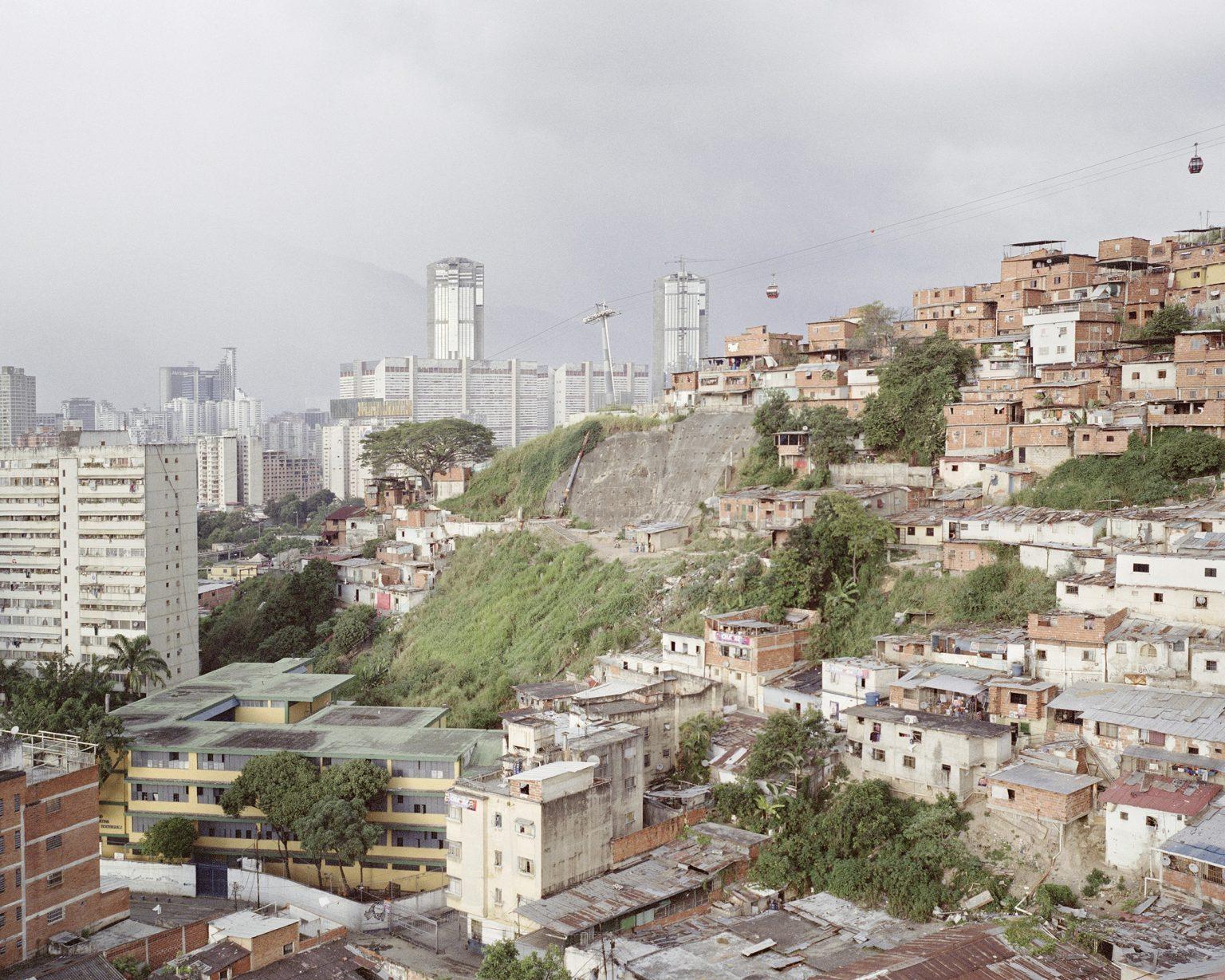 A view of Caracas, capital of Venezuela.