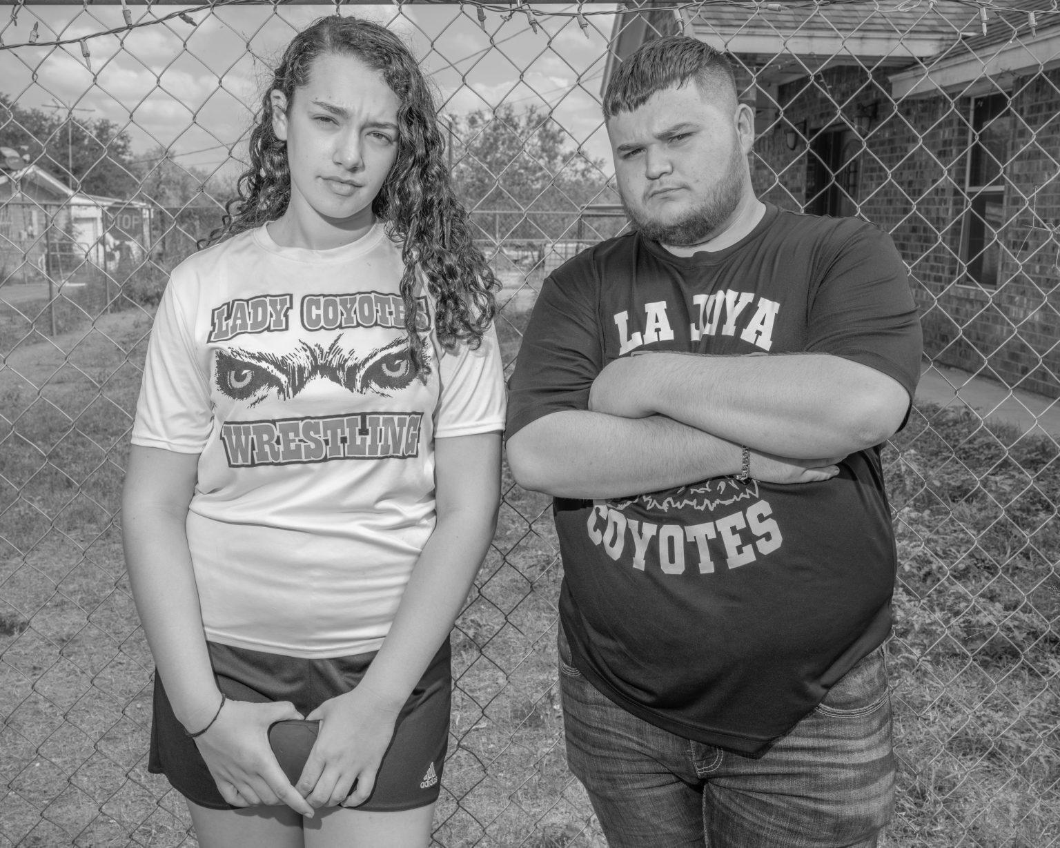 Jay and Santos, Los Ebanos, Texas. October 2019.