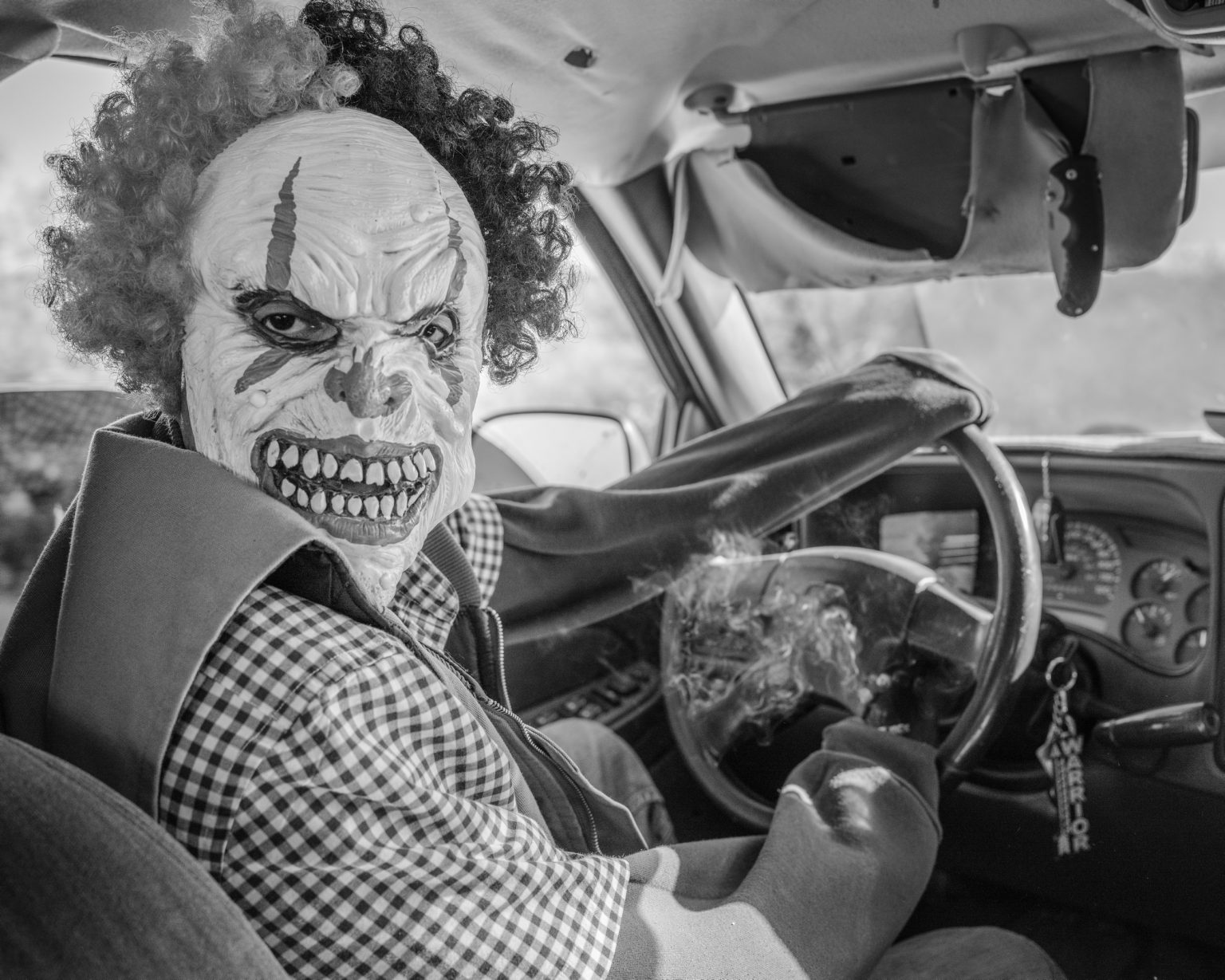 John, member of the Warrior Society Gang, while driving his car in the Tohono O'Odham Native reservation. The warrior society is a Native American gang that protects the interests of the struggling native communities around the United States.  The Tohono O'Odham reservation is located in the Sonoran desert, along the border with Mexico  and has been accused of cooperating in human and drug smuggling. with the Mexican cartels. The growing tension between federal authorities and the Native community brought to the creation of two permanent checkpoints to access and exit the natives lands.