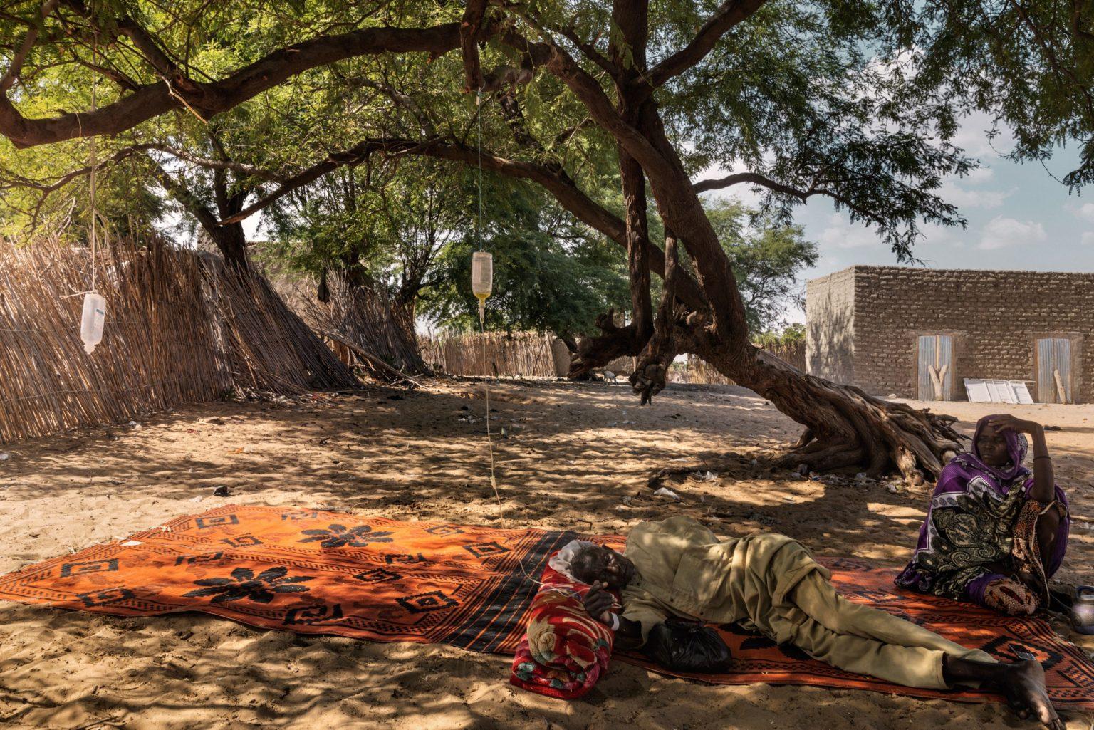 Africa, Chad, October 2018 - In the village of Melea, 25 Km from Bol, there?s a makeshift health centre in extreme conditions. >< Africa, Ciad, Ottobre 2018 - Nel villaggio di Melea, a 25 Km da Bol, vi è una clinica improvvisata in condizioni estreme.*** SPECIAL   FEE   APPLIES *** *** Local Caption *** 01362893