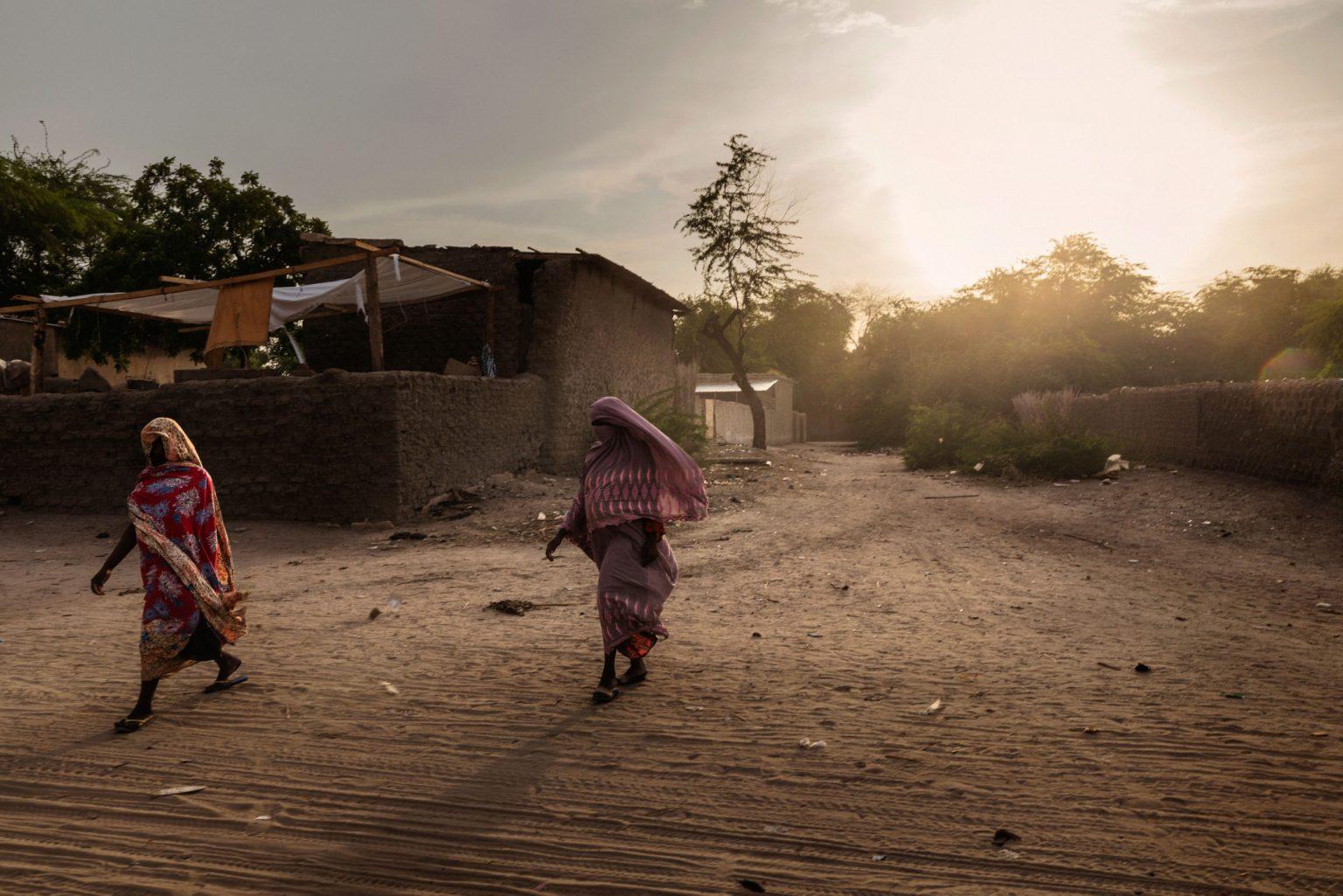 Africa, Chad, Bol, October 2018 - A glimpse of Bol, the capital of the Lac Region. Bol was on the shores of Lake Chad, before it shrunk. >< Africa, Ciad, Bol, Ottobre 2018 - Uno scorcio di Bol, la capitale della Lac Region. Bol era sulle sponde del Lago Ciad, prima che si riducesse.*** SPECIAL   FEE   APPLIES *** *** Local Caption *** 01362891