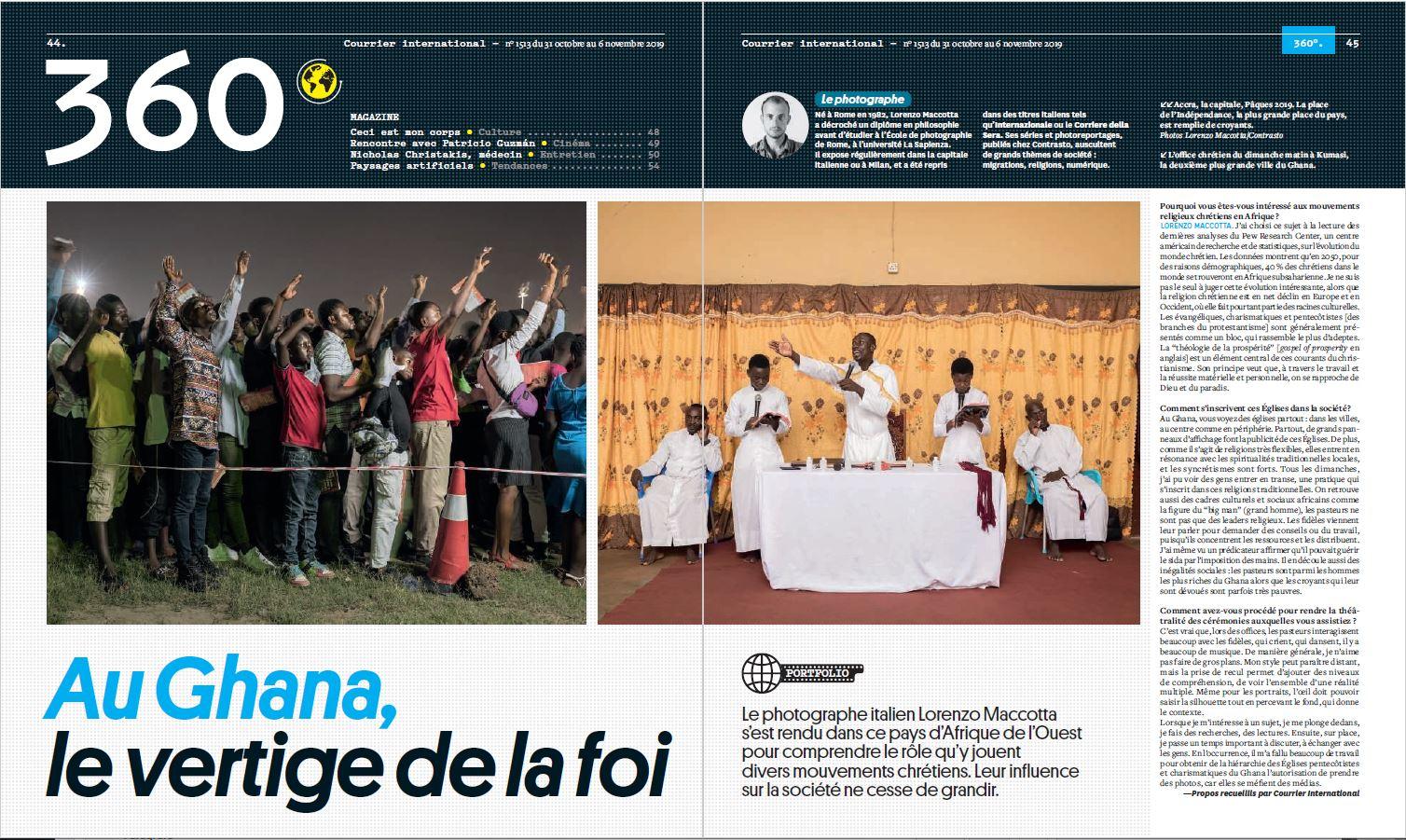 Courrier International, November 2019