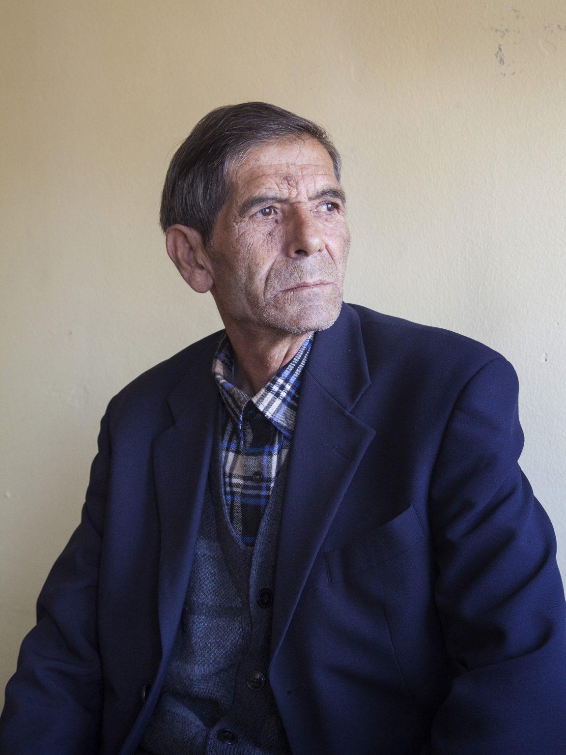 Selatin Dudaki, teacher at the caritas school in the Rom and Askari district of Ferizaj-Uroševac.