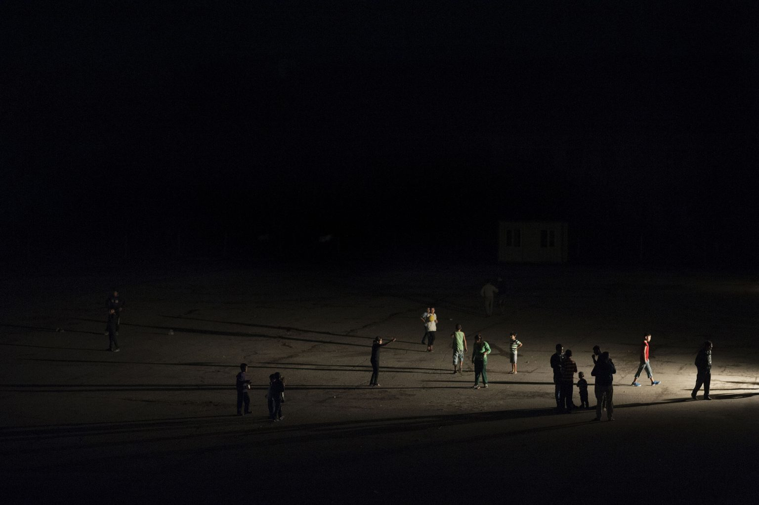 Harmanli, Bulgaria 2014 - Asylum seekers in the refugee center managed by the government.  >< Harmanli, Bulgaria 2014 - Richiedenti asilo nel campo profughi gestito dal governo.   *** Local Caption *** 00543850