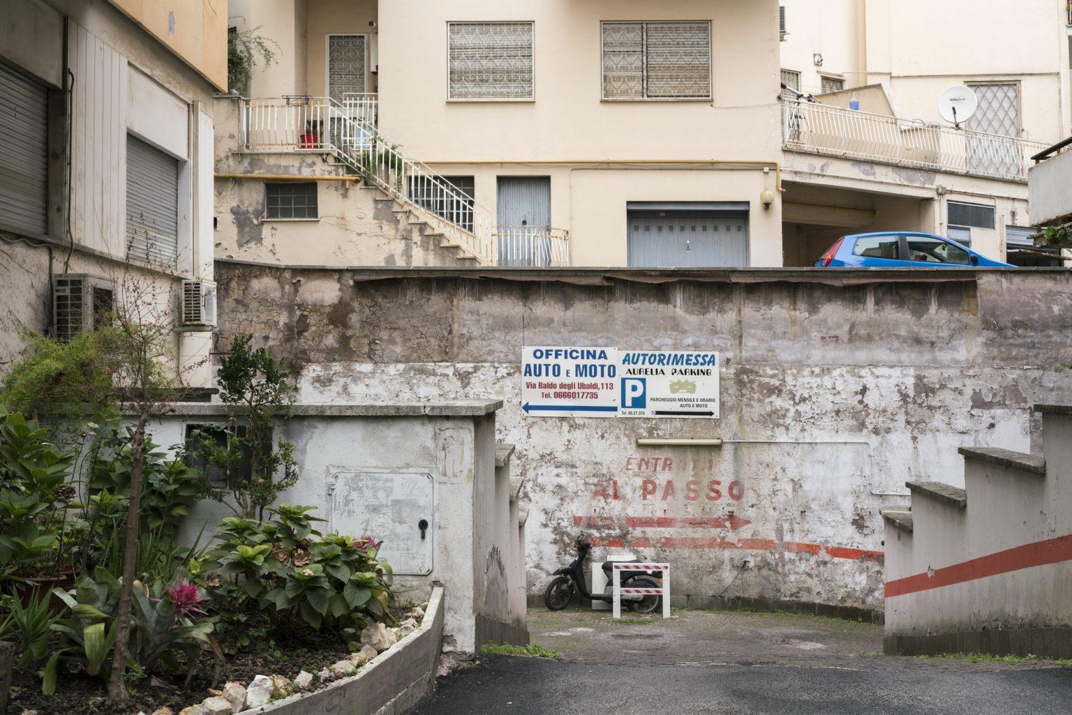 Rome, October 2016 - Via Baldo Degli Ubaldi. >< Roma, ottobre 2016 - Via Baldo Degli Ubaldi.