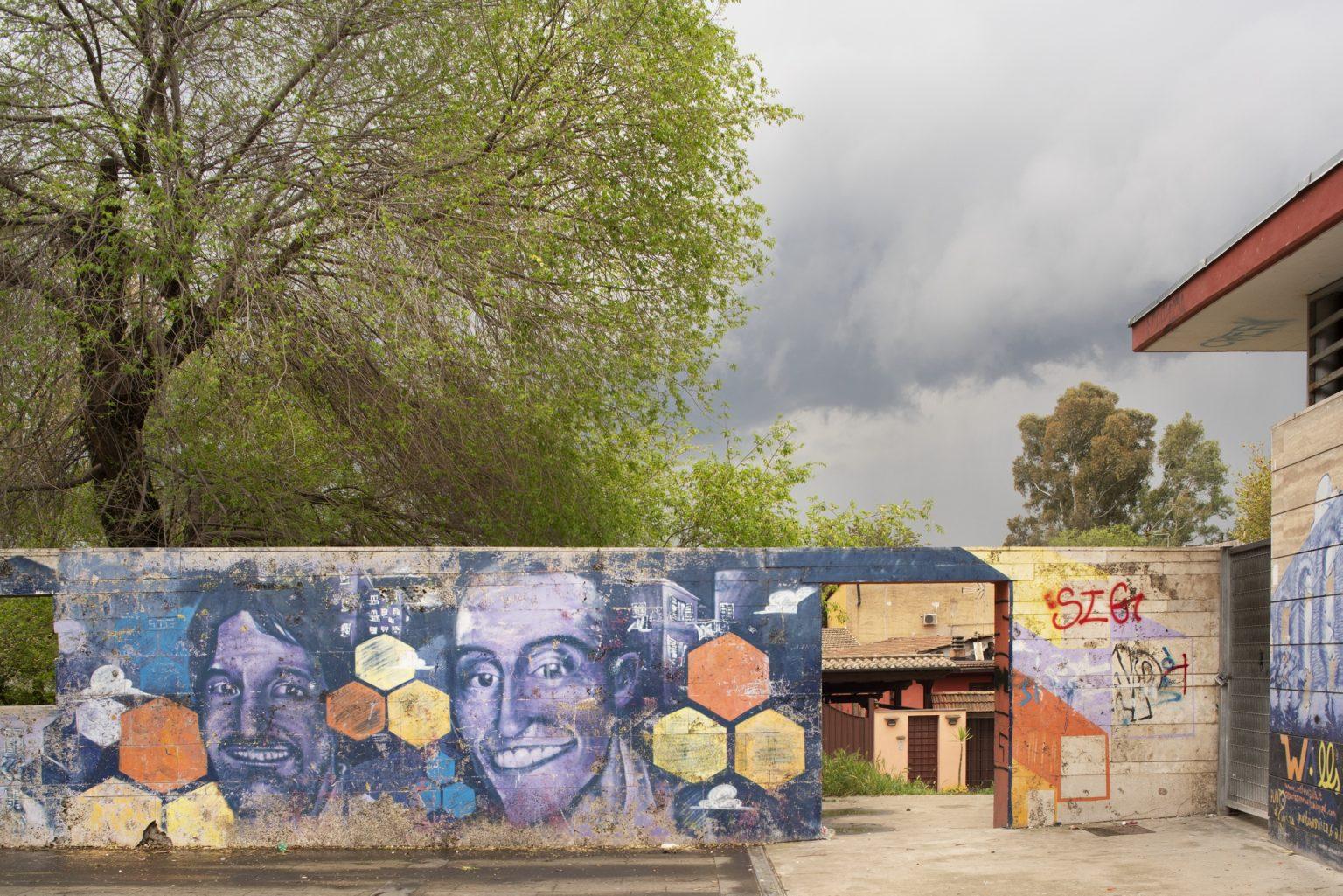 Rome, April 2017 - Parco Giordano Sangalli. Torpignattara district. >< Roma, aprile 2017 - Parco Giordano Sangalli. Quartiere Torpignattara.