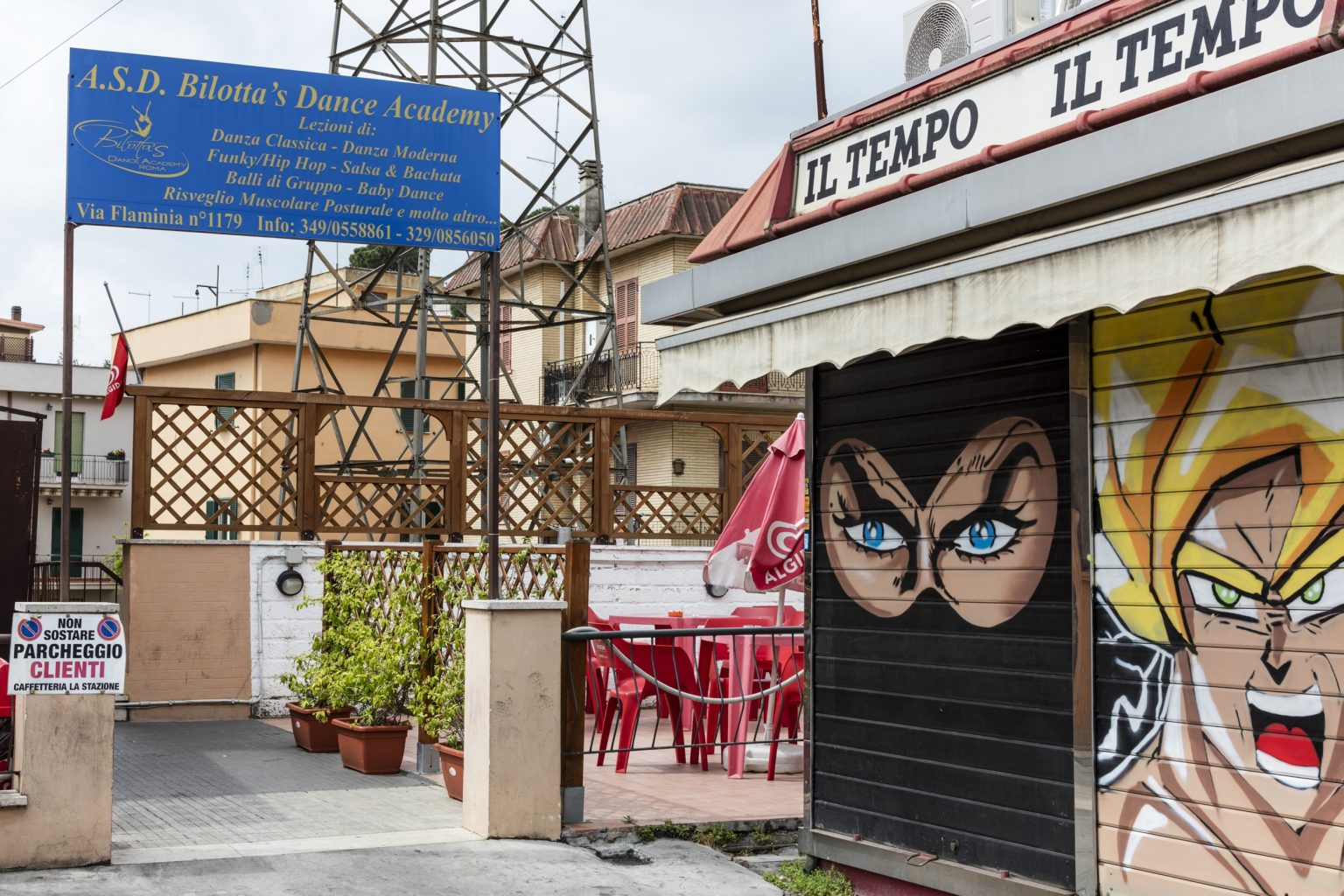Rome, April 2016 - Settebagni district. >< Roma, aprile 2016 - Quartiere Settebagni.