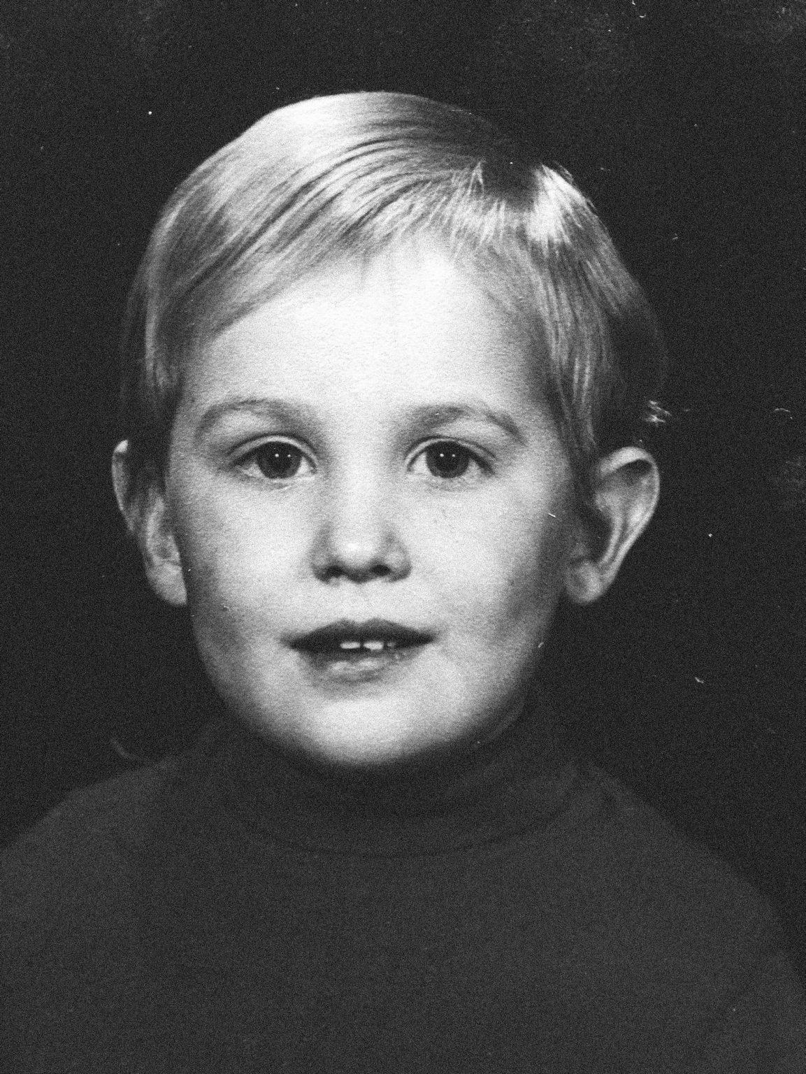 Archive image, Tristan at the age of 3 © Tristan Plot's family. ><  Immagine d'archivio, Tristan all'età di 3 anni © Famiglia di Tristan Plot.*** SPECIAL   FEE   APPLIES *** *** Local Caption *** 01489317