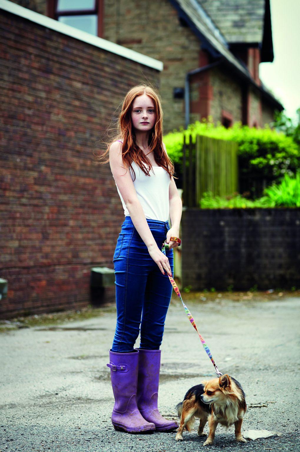 Appleby, United Kingdom, June 2014 - Appleby Horse Fair. Maddie Ratcliffe. ><  Appleby, Regno Unito, giugno 2014 - Appleby Horse Fair. Maddie Ratcliffe. *** Local Caption ***