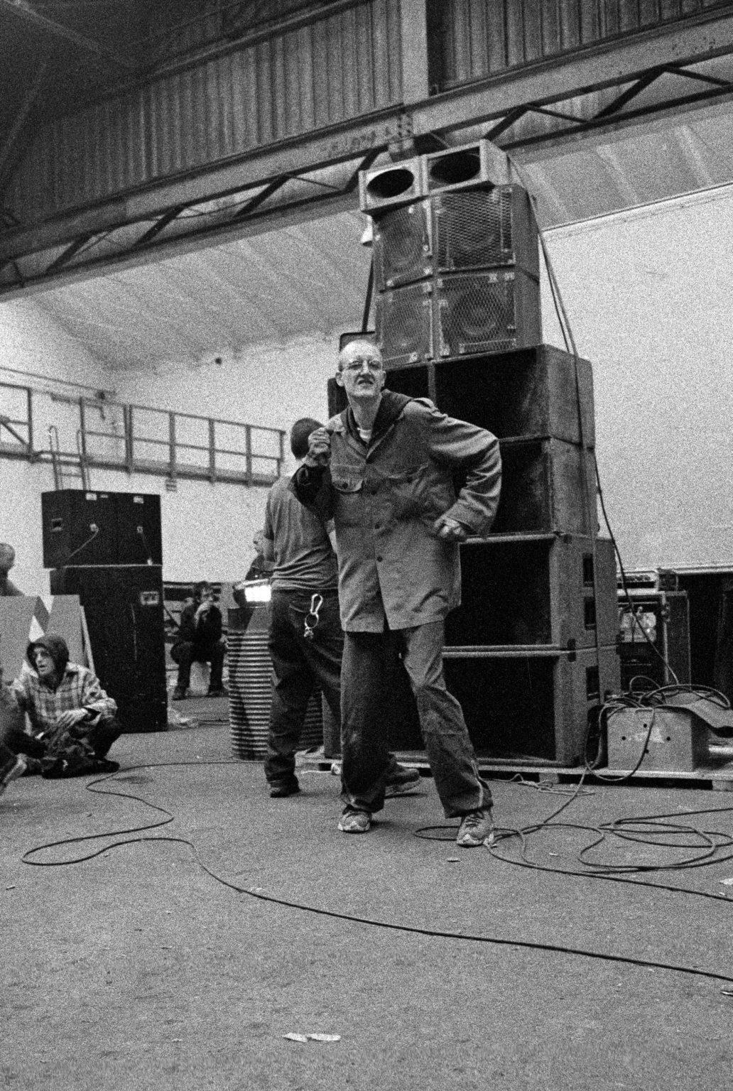 Bologna, 1999 - Squat Party.
