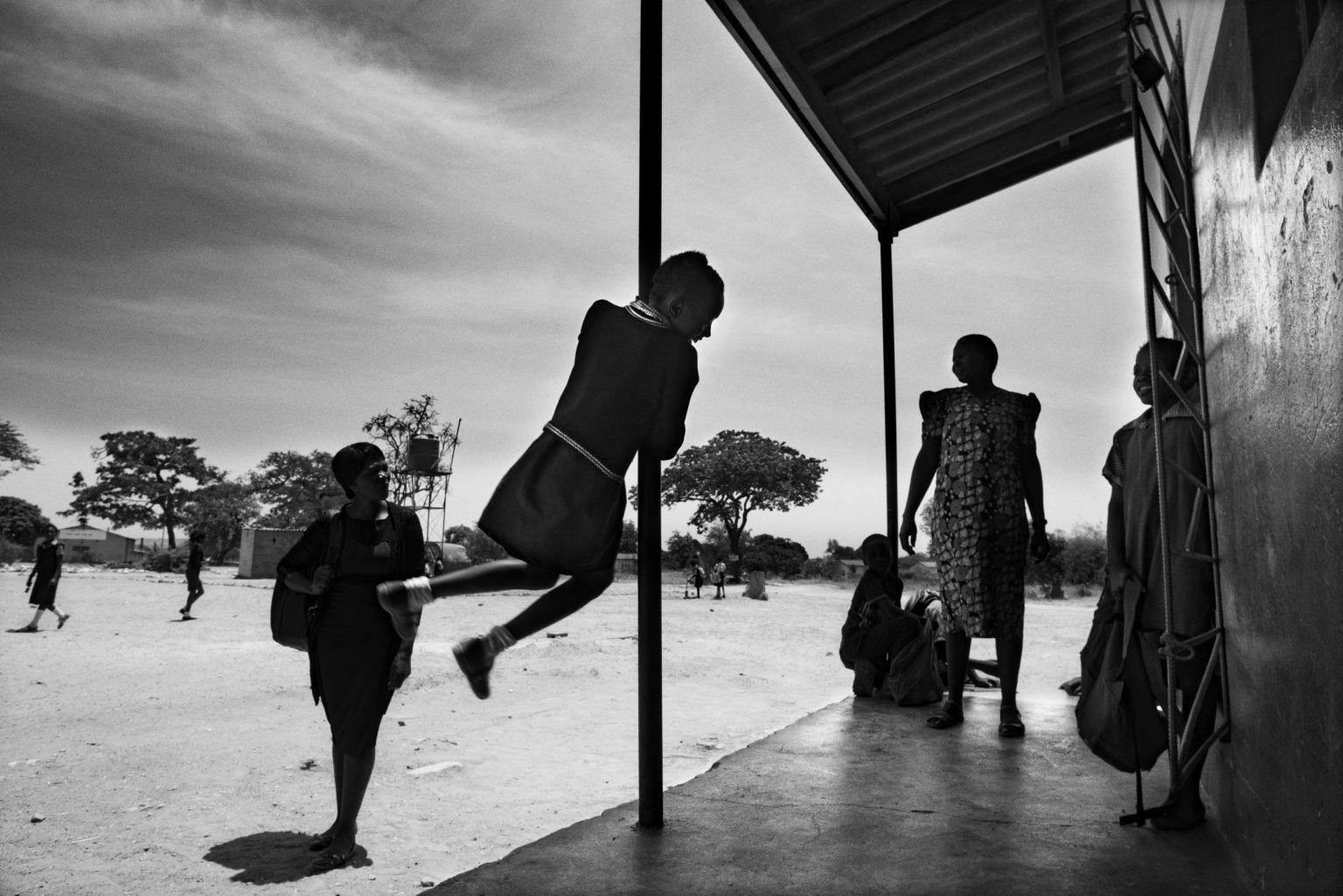 studenti della Tubalange school, una scuola in campagna alla periferia ovest di Lusaka