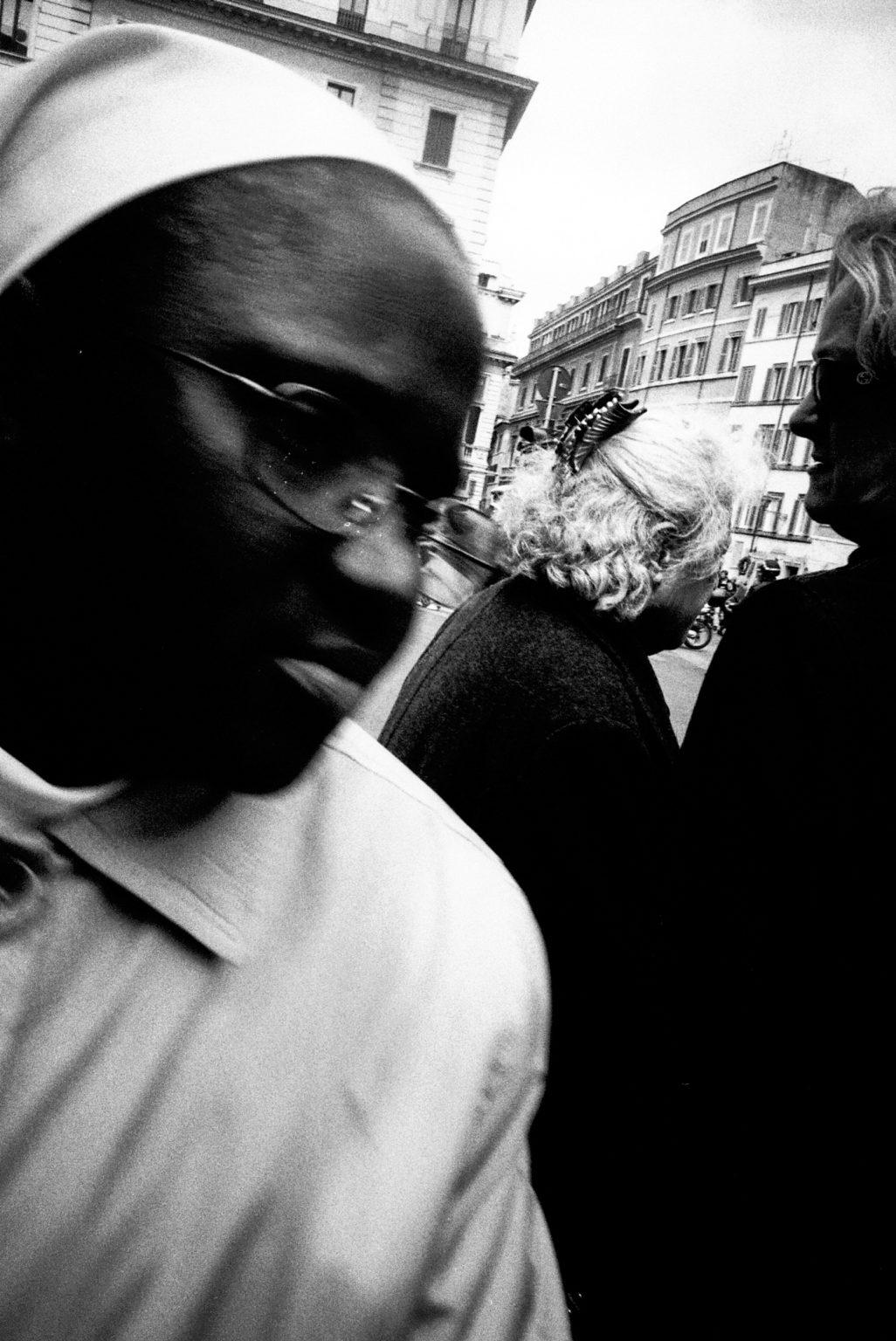 """Rome, 2007- """"Rome Diary"""" ( Rome 2007-2020)  is a long-term research that documents the city of Rome through stories of places and people. An investigation into different worlds, in a society where relationships, loneliness, abuse, love, nightlife, music and artists are explored, and finally the relationship between people and the city. A Nun in vatican city. .>< Rome, 2007 -Rome Diary Rome (2007-2020) è una ricerca a lungo termine che documenta la città di Roma attraverso storie di luoghi e  di persone. Un'indagine in mondi diversi, in una società in cui si esplorano le relazioni, la solitudine, gli abusi, l'amore, la vita notturna , la musica e gli artisti, ed infine il rapporto tra persone e città.  Una Suora nella città del vaticano."""