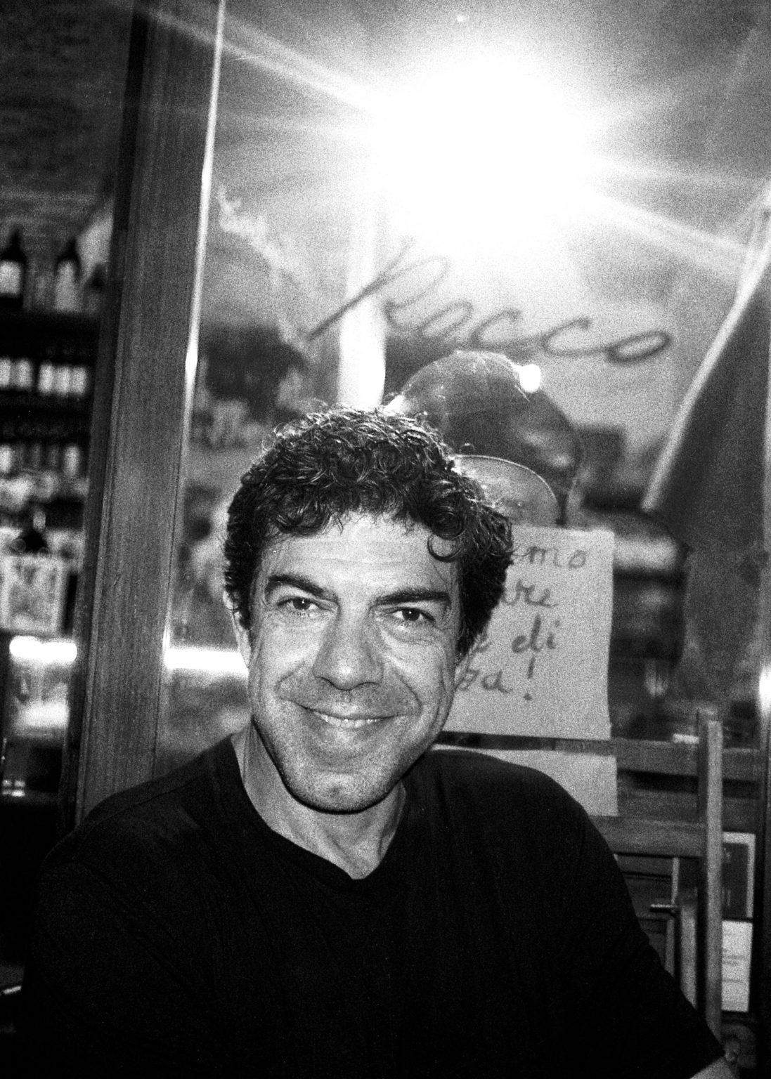 """Rome, 2020- """"Rome Diary"""" ( Rome 2007-2020)  is a long-term research that documents the city of Rome through stories of places and people. An investigation into different worlds, in a society where relationships, loneliness, abuse, love, nightlife, music and artists are explored, and finally the relationship between people and the city. The italina actor Pierfrancesco Favino in a restaurant. .>< Rome, 2020 -Rome Diary Rome (2007-2020) è una ricerca a lungo termine che documenta la città di Roma attraverso storie di luoghi e  di persone. Un'indagine in mondi diversi, in una società in cui si esplorano le relazioni, la solitudine, gli abusi, l'amore, la vita notturna , la musica e gli artisti, ed infine il rapporto tra persone e città. L'attore Pierfrancesco Favino in un ristorante."""