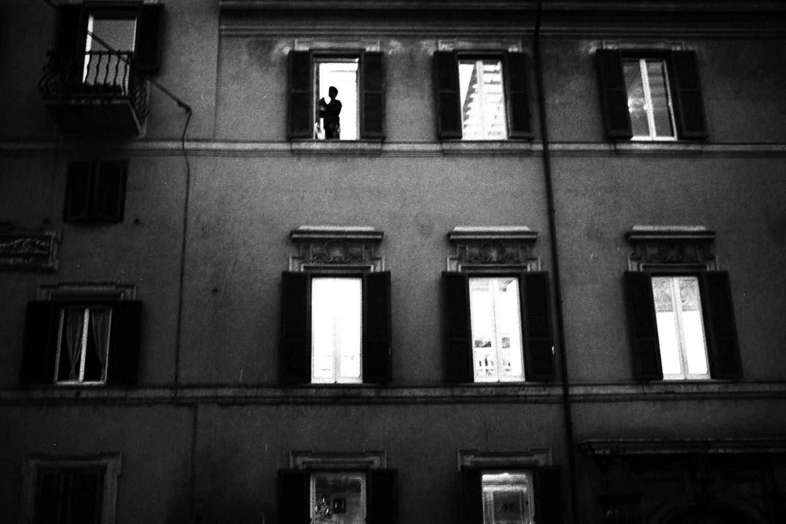 """Rome, 2007- """"Rome Diary"""" ( Rome 2007-2020)  is a long-term research that documents the city of Rome through stories of places and people. An investigation into different worlds, in a society where relationships, loneliness, abuse, love, nightlife, music and artists are explored, and finally the relationship between people and cities.A Building in trastevere. >< Rome, 2007 -Rome Diary Rome (2007-2020) è una ricerca a lungo termine che documenta la città di Roma attraverso storie di luoghi e  di persone. Un'indagine in mondi diversi, in una società in cui si esplorano le relazioni, la solitudine, gli abusi, l'amore, la vita notturna , la musica e gli artisti, ed infine il rapporto tra persone e città. Un palazzo a trastevere."""