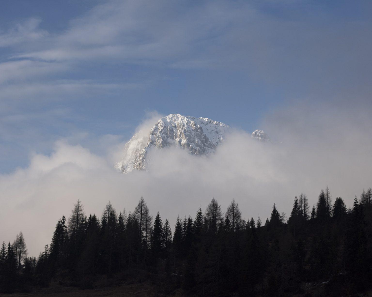 La leggenda del Piave. Sappada (BL). Nei pressi del monta Peralba, sorgente del Piave.