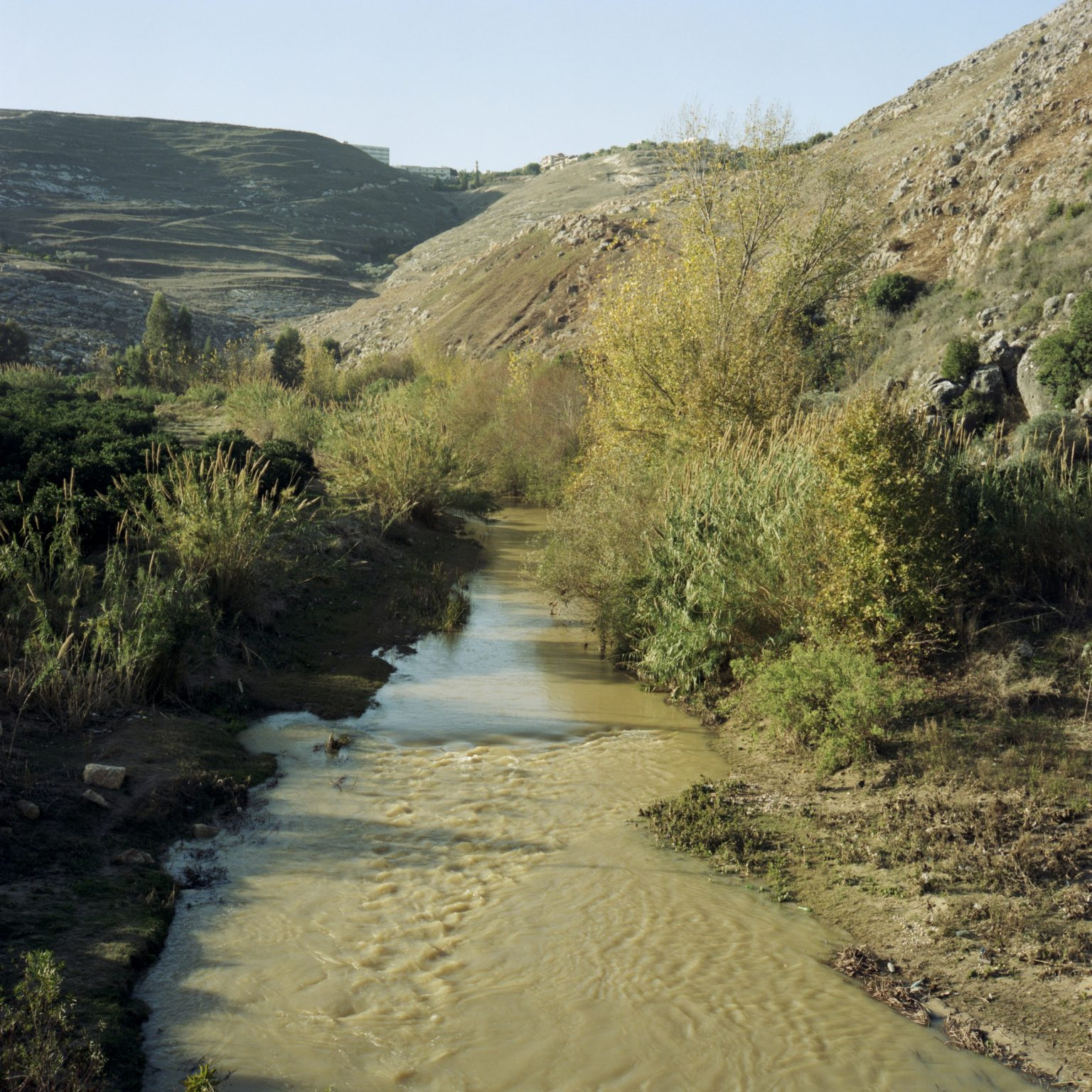 Litani, Lebanon. The river Litani marks the area of operation of Unifil troops in southern Lebanon, and has always been a natural limit to the invading Israeli troops.